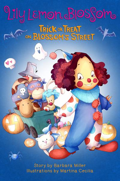 Children's Books Lily Lemon Blossom Halloween