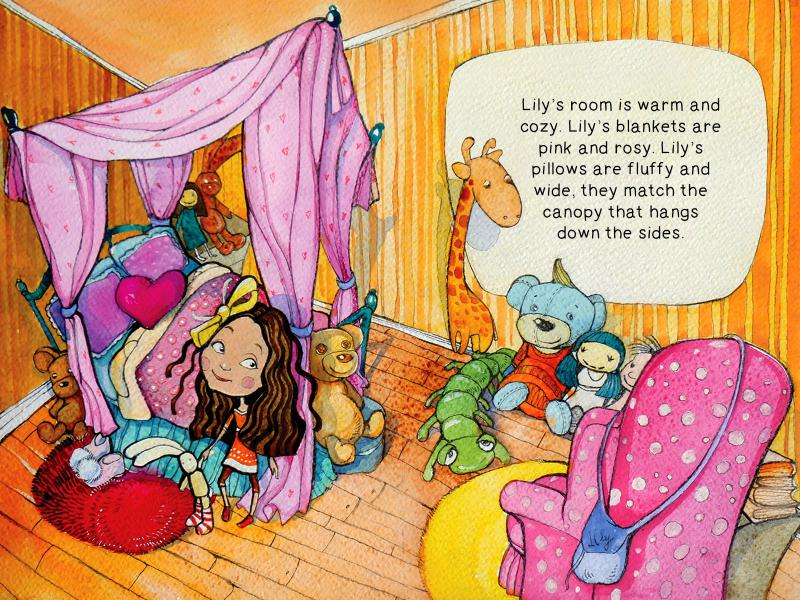 Welcome to Lily's Room - Children's Books screen shot