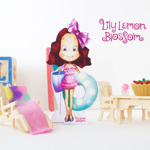 Lily Lemon Blossom Pool Party